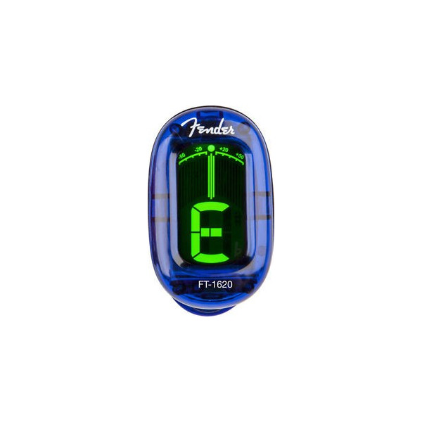 Fender California Clip-On Tuner Lake Placid Blue