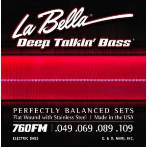 La Bella elbas 760FL Deep Talkin' Flat Wound