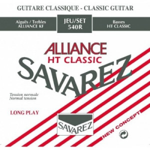 Savarez Alliance Röd Normal Tension, set SA540R