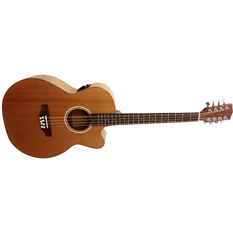 Ashbury Guitar Mandola med Mikrofon