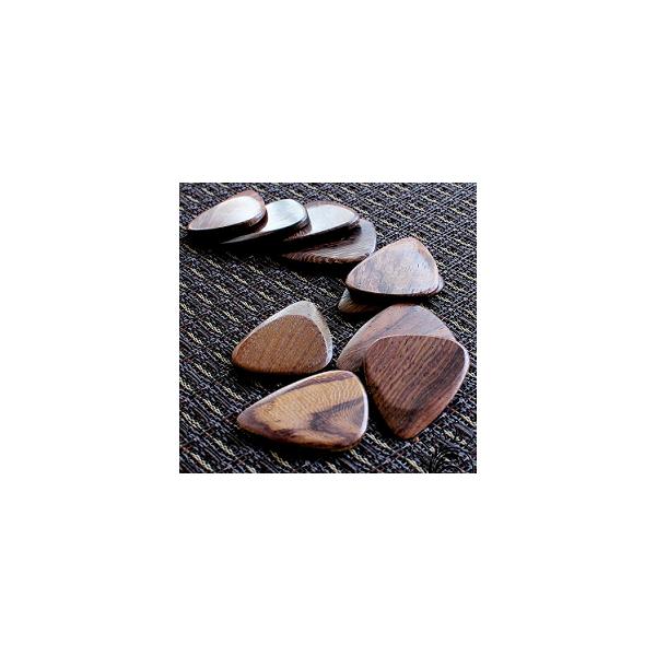 Timber Tones Thai Rosewood Plektrum 1 styck