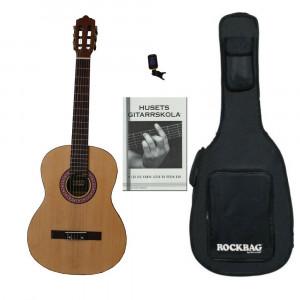 Husets Gitarr 100, 3/4-storlek Nybörjarpaket (Vänster)