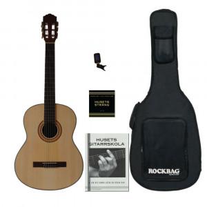 Husets Gitarr QC-3902, Skolpaket (Vänster)