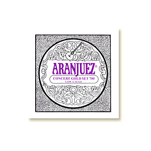 Aranjuez Concert Guld 700, Low Gauge, set