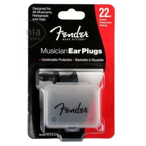 Fender Black Ear Plugs Hörselskydd