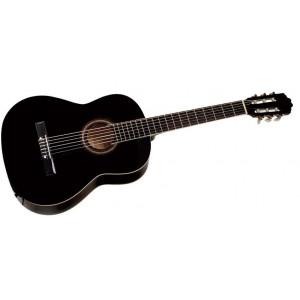 Cataluna 3/4 gitarr. Från 7 år. Svart