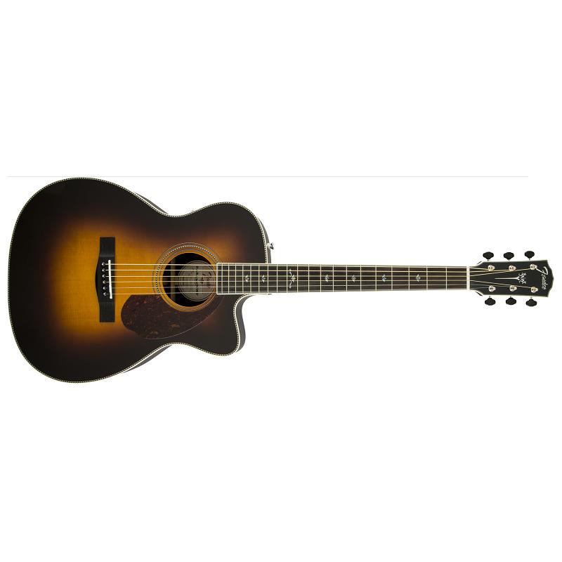 Fender Paramount PM-2 Deluxe Parlor. Sunburst