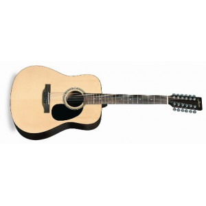 Jason Westerngitarr 12 strängad naturfärgad 12701-N
