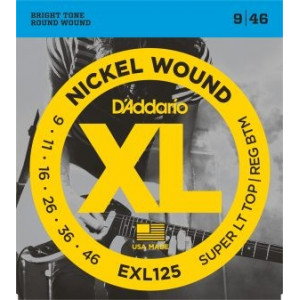 D'Addario XL125 .009-.046 El, Set