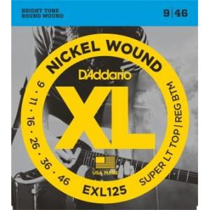 D'Addario XL125 .009-.046 El, Set
