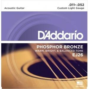D'Addario EJ26 Phosphor Bronze Custom Light 011