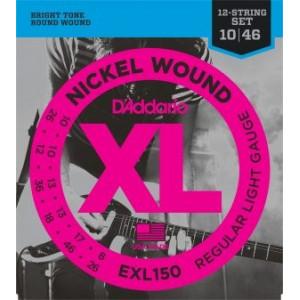 D'Addario EXL150 12 strängat