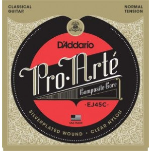 D'Addario Pro Arté© J45C Composites Normal Tension, set