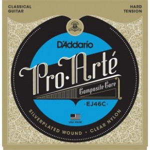 D'Addario Pro Arté© J46C Composites Hard Tension, set