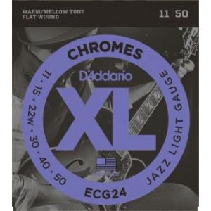 D'Addario Chromes CG24 .011-.050, Set
