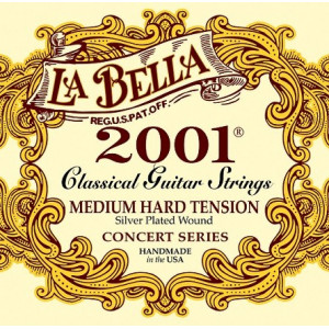 La Bella 2001 Medium hard tension