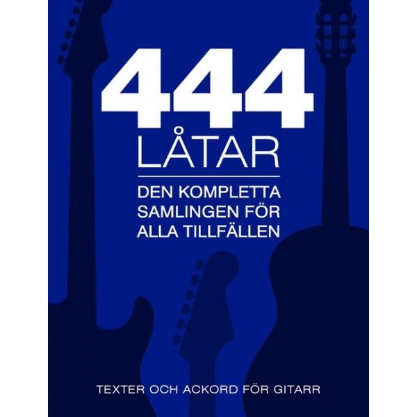 444 Låtar Gitarr