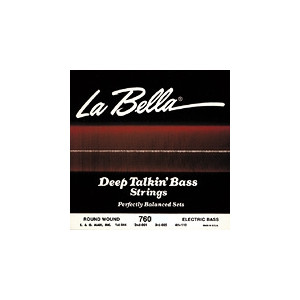 La Bella elbas 760RL Deep Talkin