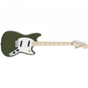 Fender Mustang Mexico MN Olive Green