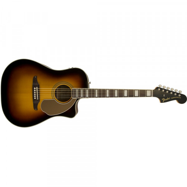 Fender Kingman ASCE Dreadnought med Etui