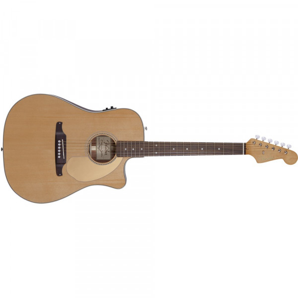 Fender Sonoran Thinline med Mikrofon Natur