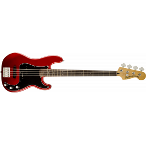 Squier Vintage Modified Precision Bass® PJ Candy Apple Red