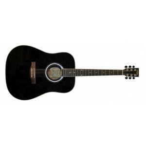 Jason 12701 Westerngitarr Svart