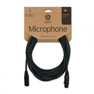 Daddario XLR Classic Mic Cable 25 fot