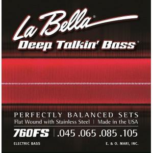 La Bella elbas 760FS Deep Talkin' Flat Wound