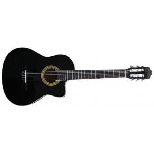 Husets Gitarr CG-200CE Nylon med mikrofon