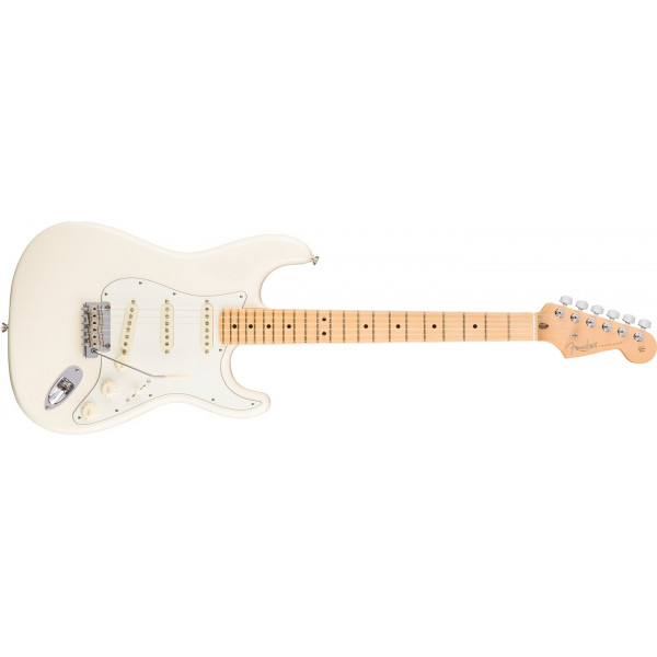 Fender American Professional Stratocaster, Maple Olympic White