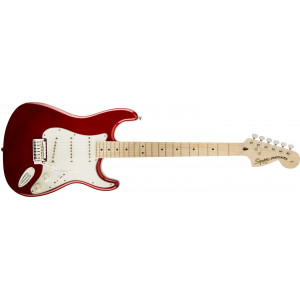 Squier by Fender Standard Stratocaster Candy Apple Red