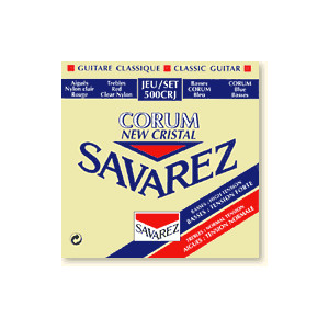 Savarez Corum New Cristal, Normal/High Tension, Diskanter/Basar,
