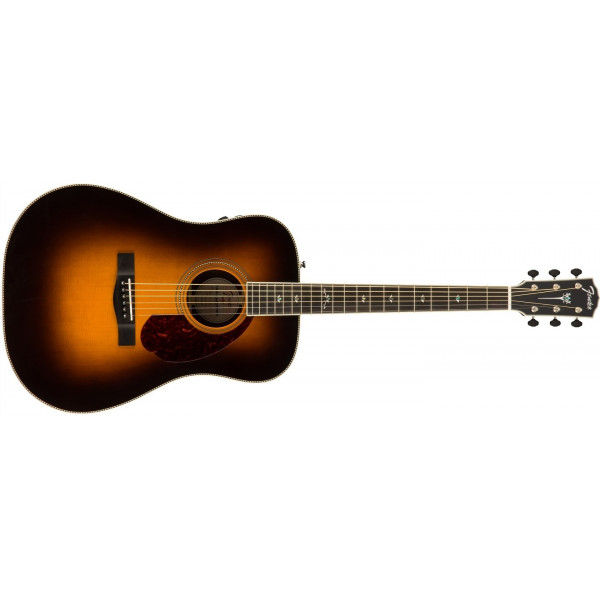 Fender Paramount PM-1 Deluxe Dreadnought Sunburst