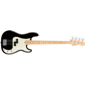 Fender American Professional Precision Bass Black Maple