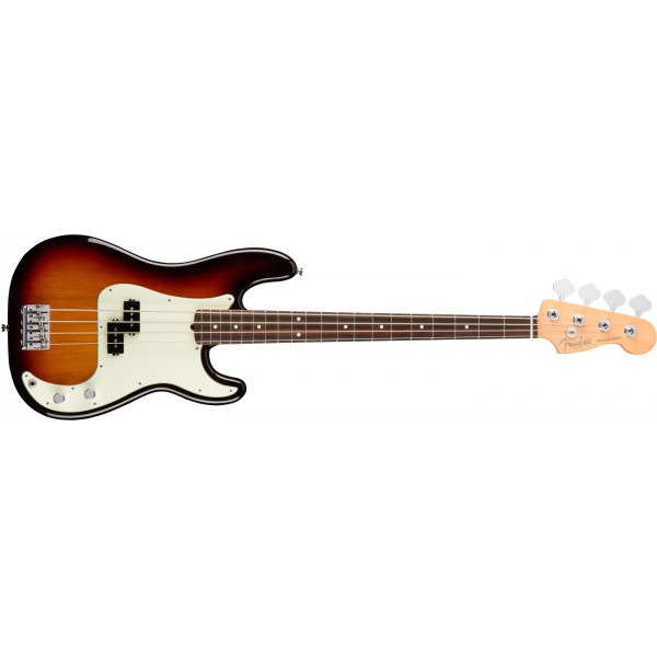Fender American Professional Precision Bass 3-Color Sunburst Rosewood