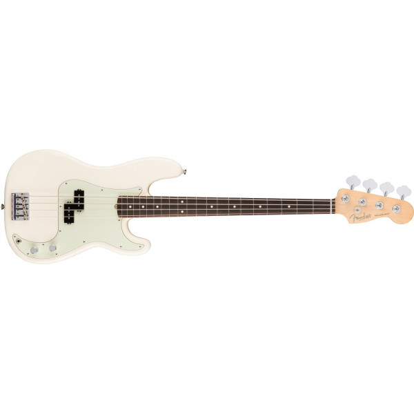 Fender American Professional Precision Bass Olympic White Rosewood