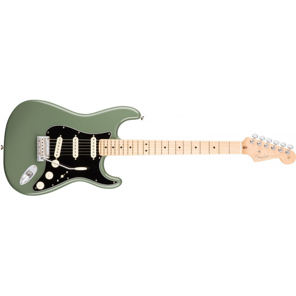 Fender American Professional Stratocaster, Maple Antique Olive