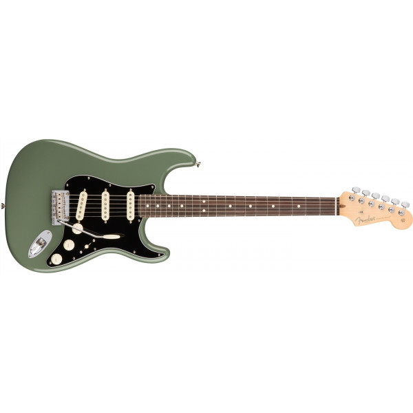 Fender American Professional Stratocaster, RW Antique Olive