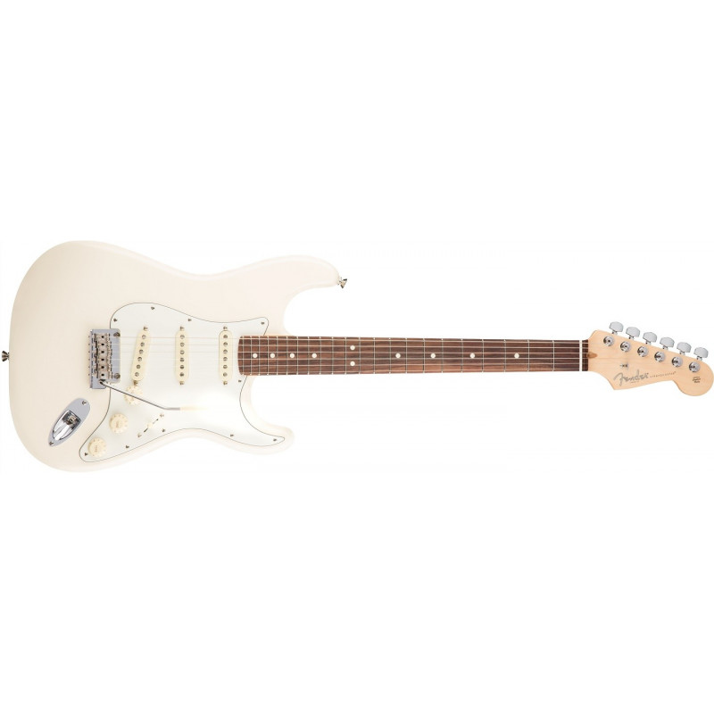 Fender American Professional Stratocaster, RW Olympic White