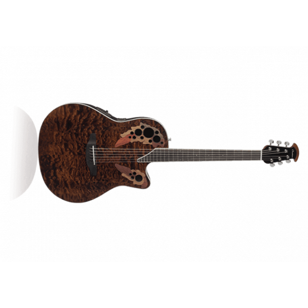 Ovation Elite Plus Celebrity Super Shallow- Tiger Eye