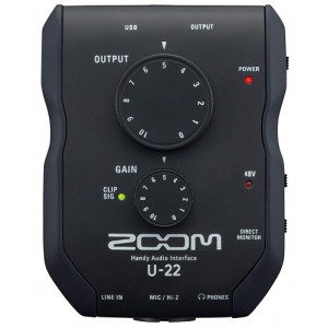 Zoom StereoMik Zoom iQ5 Svart för iPhone/iPad