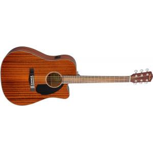Fender CD-60CE All Mahogny Med Mikrofon