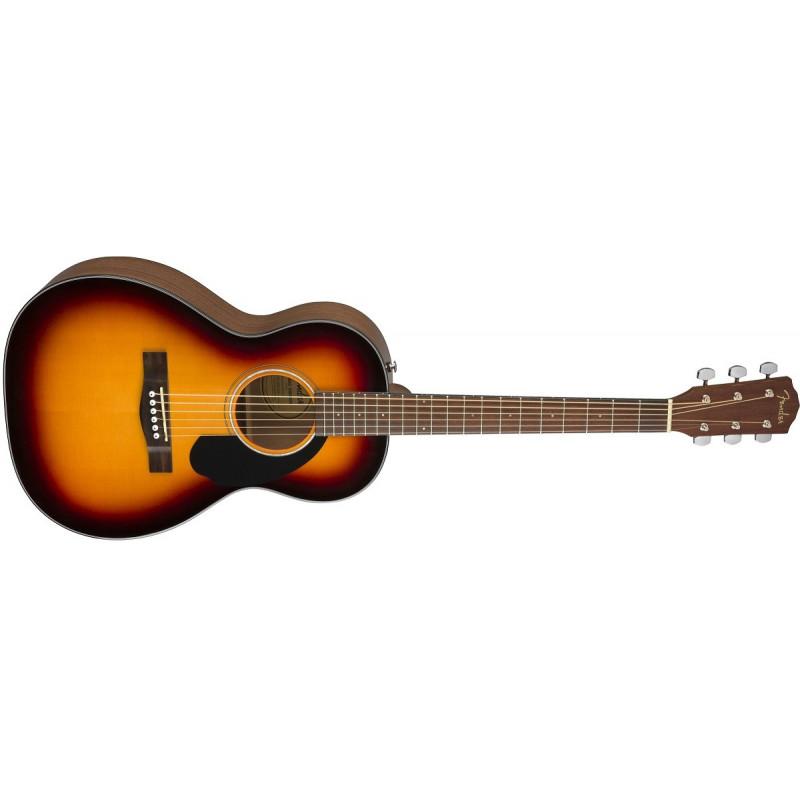 Fender CP-60S Parlor. Solitt Lock Natur