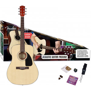 Fender CD-60S Natur Gitarrpaket / Acoustic Pack