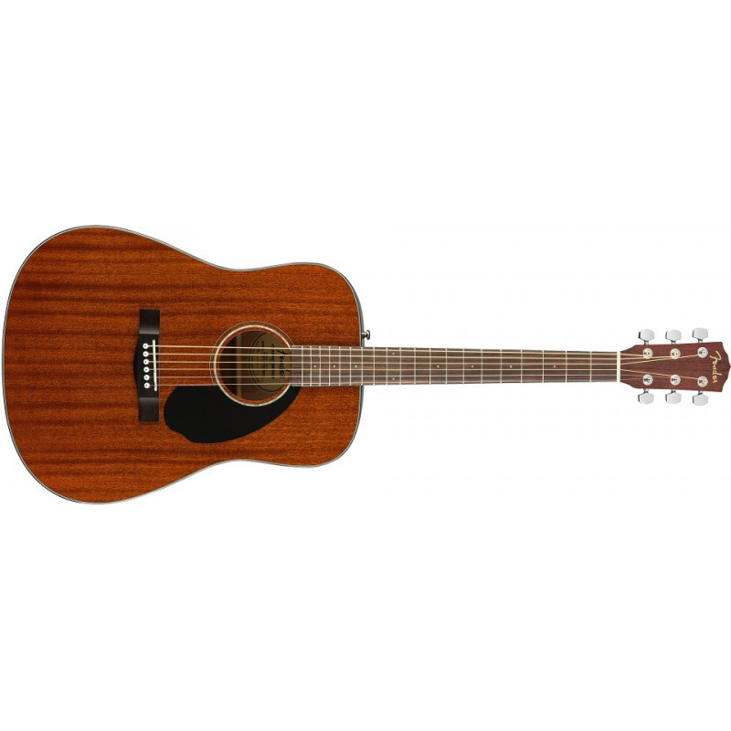 Fender CD-60CE Mahogny with microphone