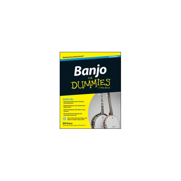 Banjo for Dummies 2nd edition