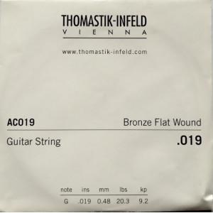 Dr. Tomastic Plektrum G3 .019 Bronze Flat Wound