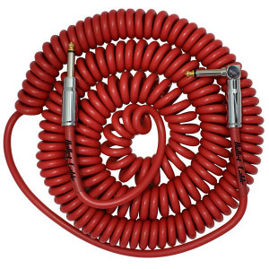 Bullet Cable 30′ Coil Cable Clear