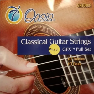 Oasis Carbon Trebles HT (only 3 pc strings in this set)